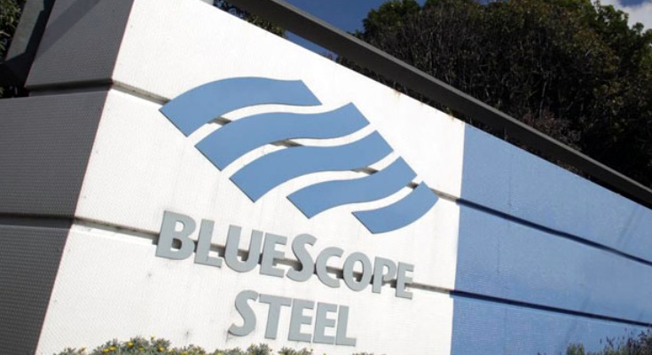 BlueScope FY profit drops 91% on writedown