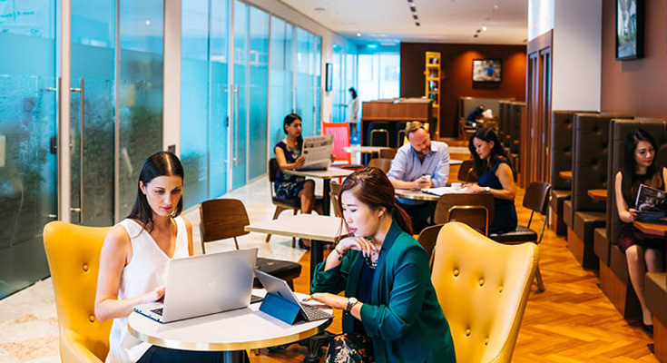 Should Investors Squeeze Into The Co-Working Collaborative Zone?